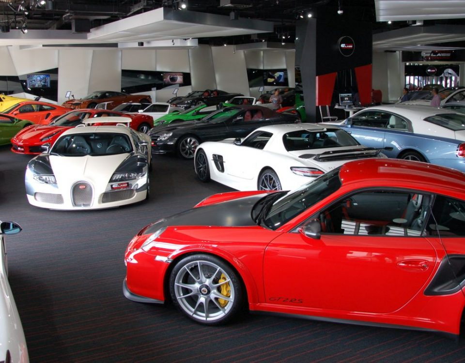 Fascinating sports cars in Dubai