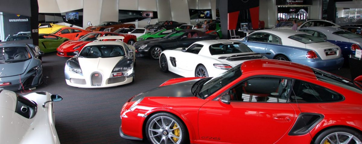 Fascinating sports cars in Dubai
